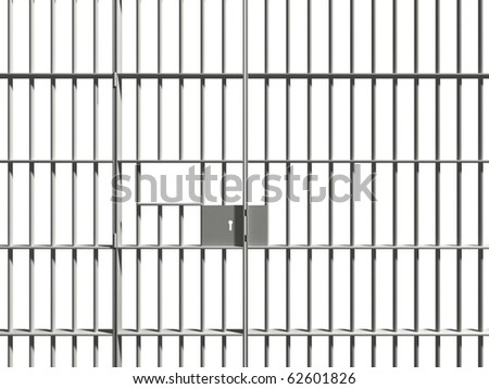 prison bar - stock photo