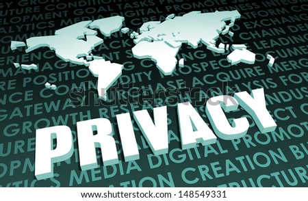 Privacy Industry Global Standard on 3D Map