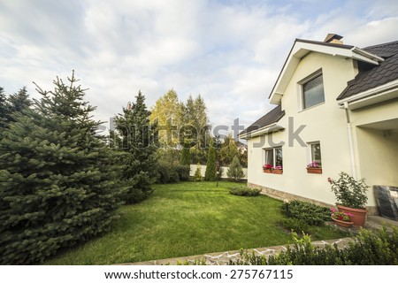 private house - stock photo