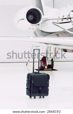 Private plane - stock photo