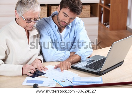 Private tuition - stock photo