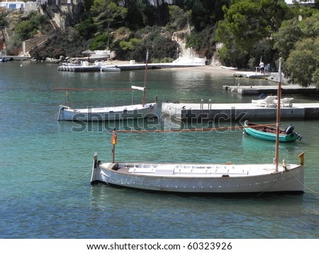 private yacht - stock photo