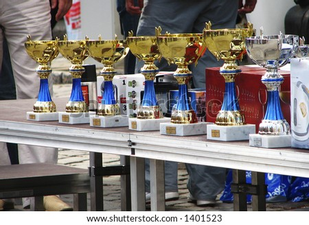 Prizes - stock photo