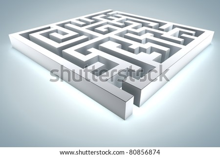 Problem and Solution - stock photo