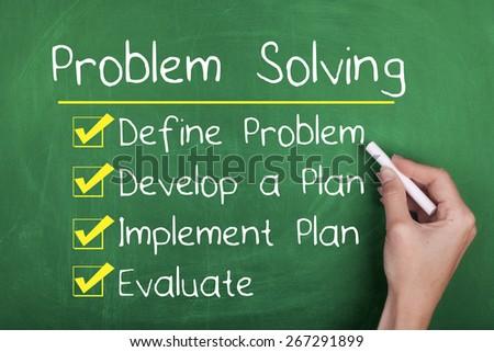 Problem Solving - stock photo