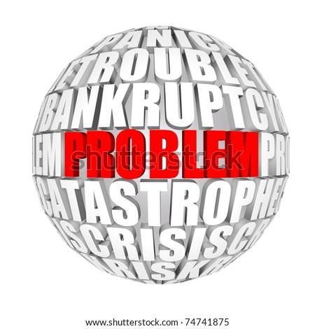 problems around us - stock photo