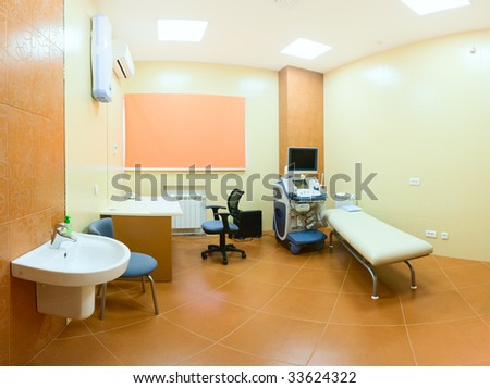 Procedural room in hospital