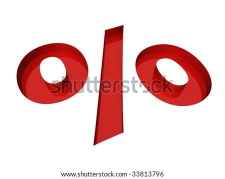 procent - stock photo