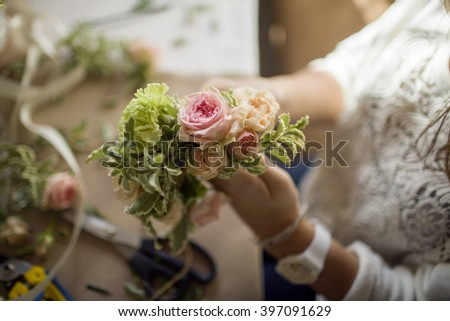 process of mastering flower composition on flower masterclass