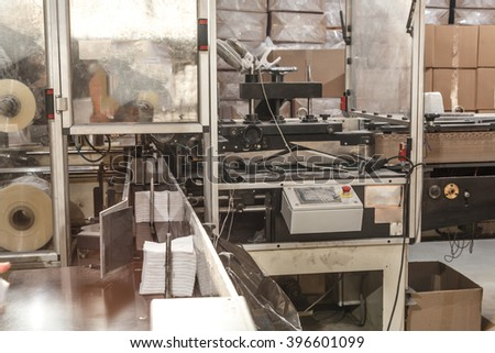 Process of various paper products manufacturing indoors