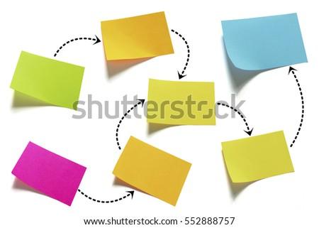 processes flow template イラスト素材 552888757 shutterstock