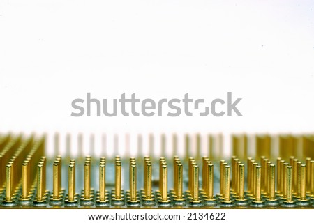 Processor, circuit of high technology. - stock photo