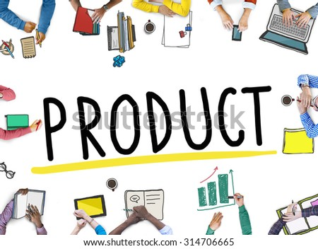 Product Branding Commercial Marketing Concept - stock photo