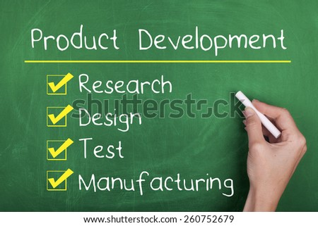 Product Development - stock photo