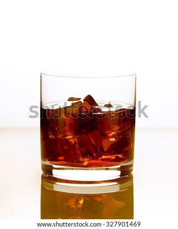 Product photograph of a whiskey on a white background