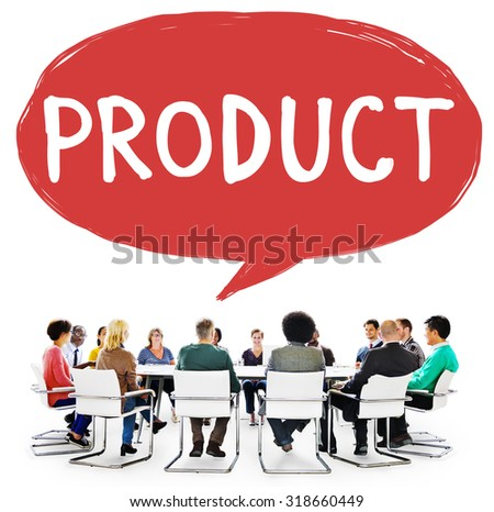 Product Production Collection Marketing Advertising Concept - stock photo