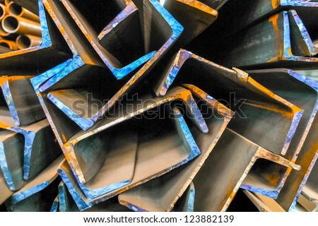 Production of metal - stock photo