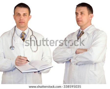 Profession male doctor.Health Care.Medicine - stock photo