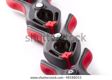 Professional clamps - stock photo