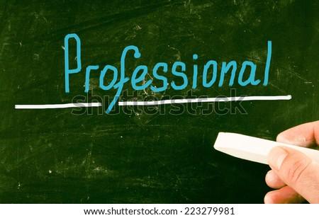 professional concept - stock photo