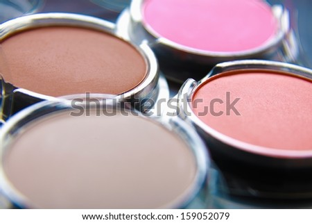 Professional cosmetics. - stock photo