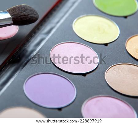 Professional cosmetics. - stock photo