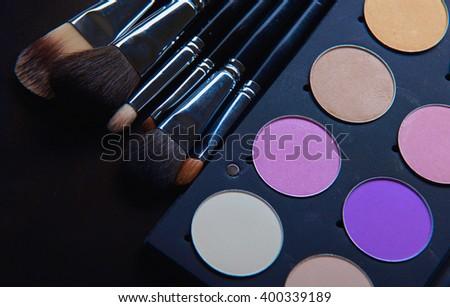 Professional cosmetics - stock photo