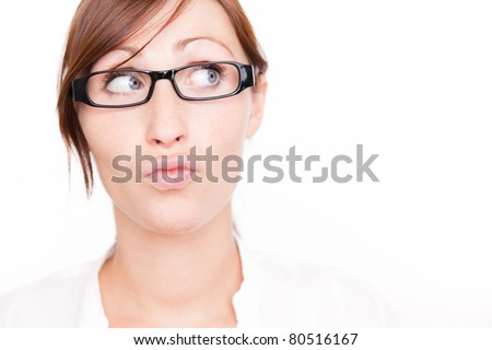 professional portrait - stock photo