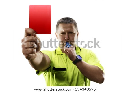 Referee football official signals a touchdown stock photo image - Referee Stock Images Royalty Free Images Amp Vectors