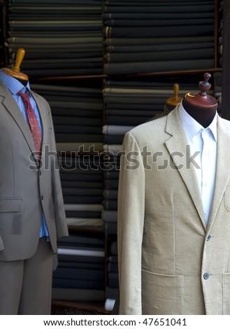 professional tailoring - stock photo