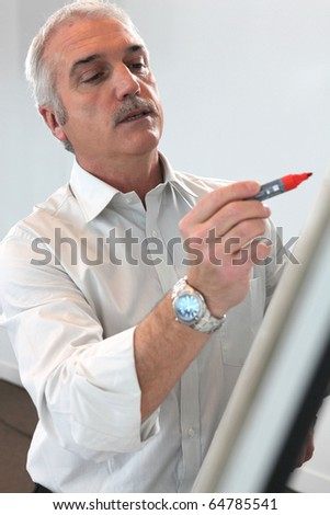 Professor - stock photo
