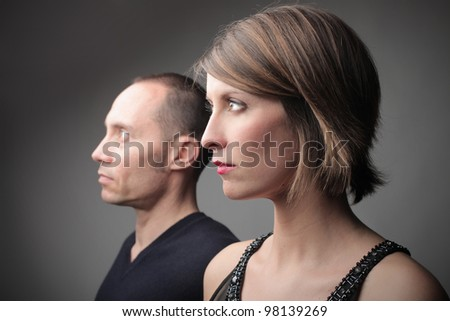 Profile of a couple