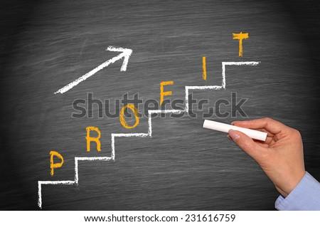 Profit - Business Concept - stock photo