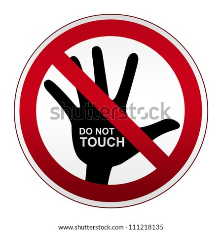 no touching stock images royaltyfree images amp vectors