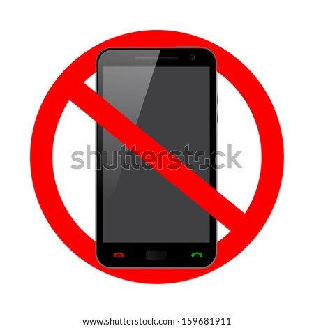 prohibited use of the phone
