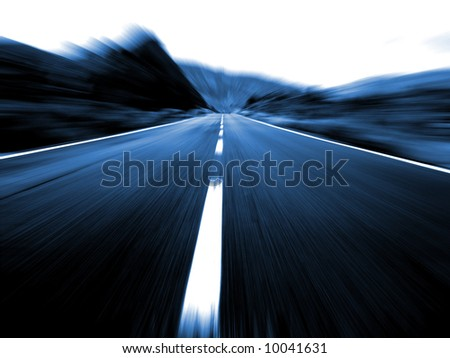 Project ahead - stock photo