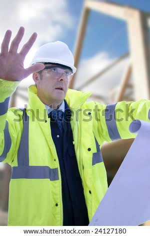 Project/Construction Engineer - stock photo