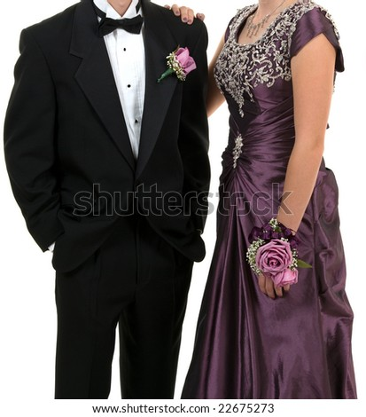 Prom or wedding - stock photo