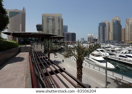 Promenade at Dubai Marina, United Arab Emirates