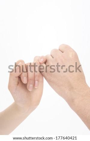 Promise - stock photo