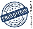 promotion stamp - stock photo