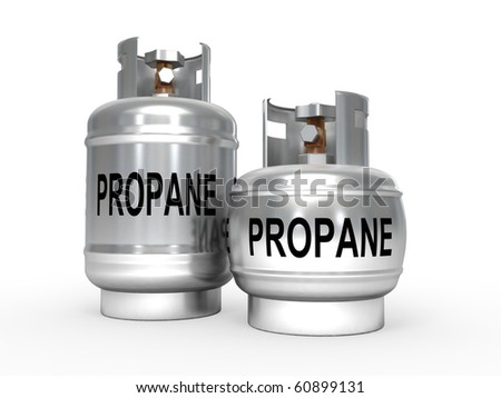 Propane gas tanks