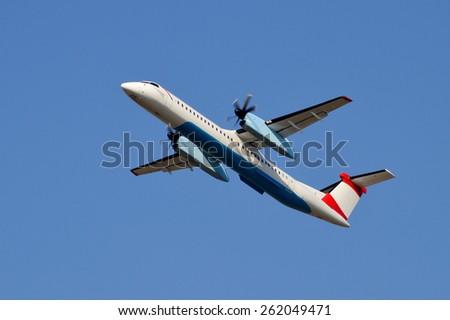 Propeller-driven Aircraft - stock photo