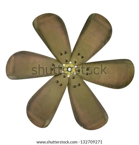 Propellers fan - stock photo