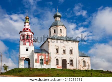 Prophet Elijah's Church (1744) in Suzdal, Golden Ring of Russia - stock photo
