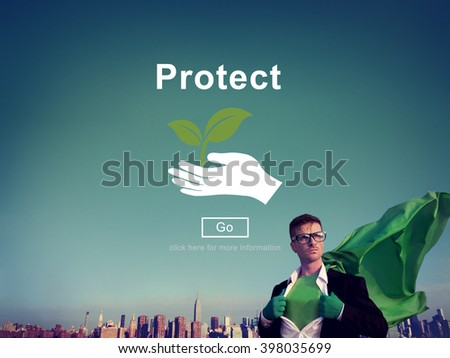 Protect Saving Security Safety Prevention Protection Concept - stock photo