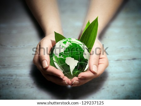 protect the green of america - stock photo