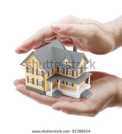 Protect Your House - stock photo