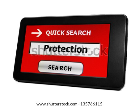 Protection concept - stock photo