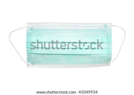 protection mask under the white background